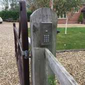 Repaired and recommissioned gates with a new GSM Intercom