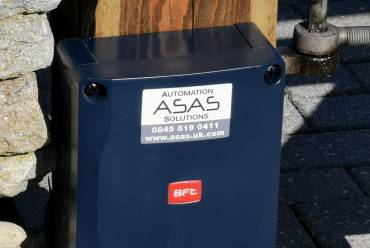 Wooden electric gate repairs