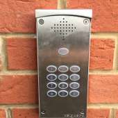 Electric gate GSM intercom