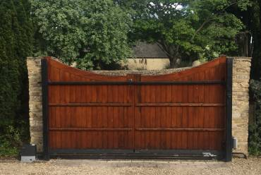 Sliding electric gates repaired