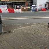 New access barrier for car park