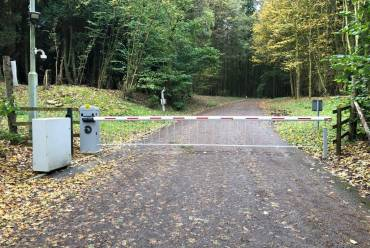 New access barrier installation
