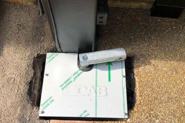 New CAB hydraulic underground drive motors
