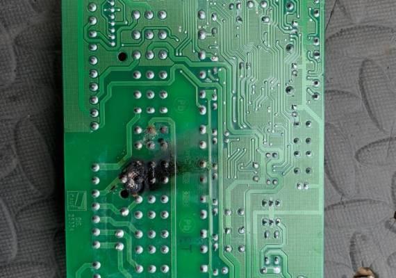 Electric gate circuitboard repairs